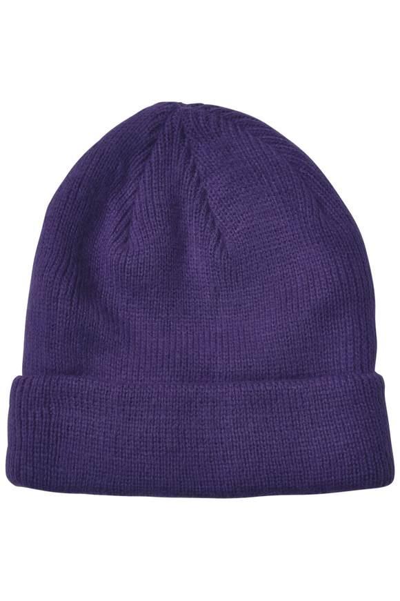 Softe Strickmütze - midnight purple | Accessoires > Mützen > Strickmützen | Midnight purple | STREET ONE