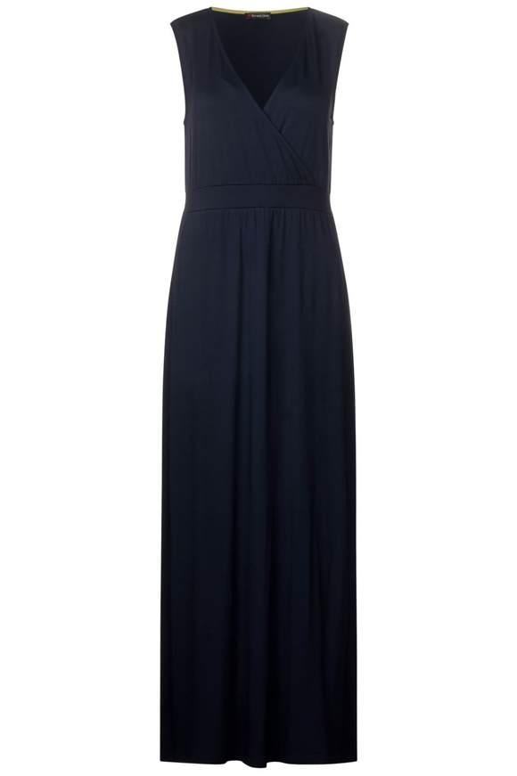 Einfarbiges Maxi Kleid - deep blue | Bekleidung > Kleider > Maxikleider | Deep blue | STREET ONE