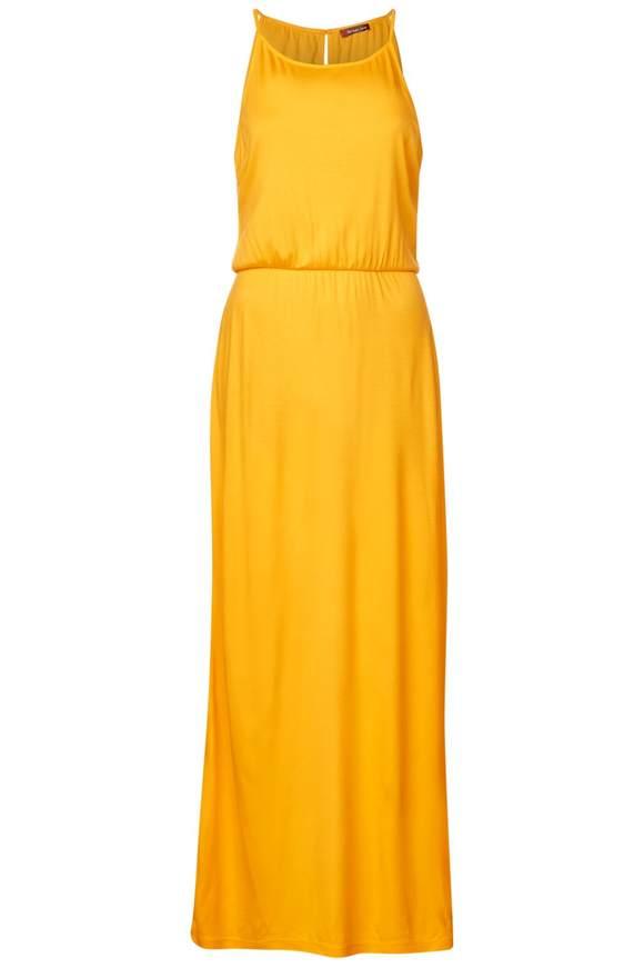 Jersey Neckholder Kleid - bright clementine | Bekleidung > Kleider > Neckholderkleider | Bright clementine | Jersey | STREET ONE