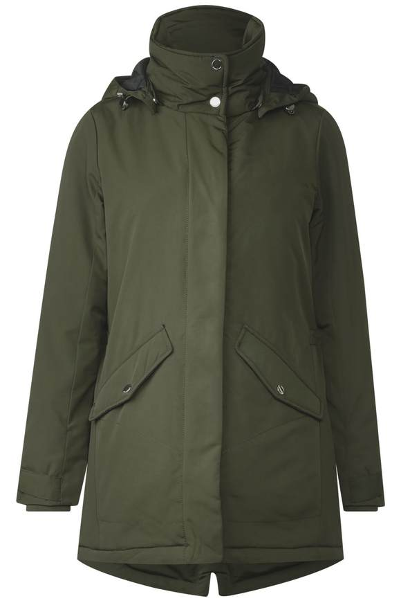 Parka im sportiven Look - woodland green