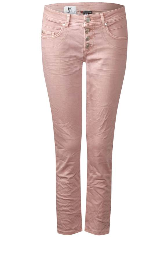 Kurze coloured Denim Crissi - pale rose washed