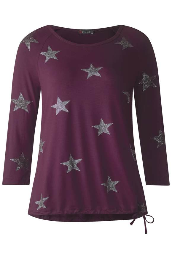 Weiches Shirt Jolanda - mystique berry | Bekleidung > Shirts > Sonstige Shirts | Mystique berry | Viskose | STREET ONE