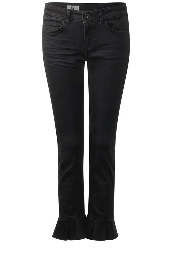 Volant Denim York - black stone wash