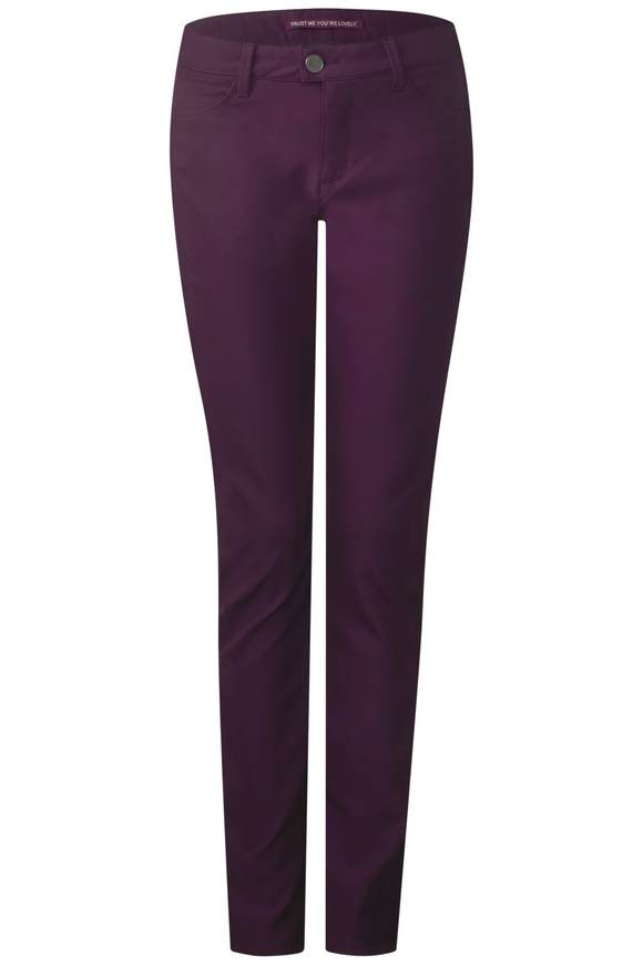 Wohlfühl Slim Fit York - mystique berry