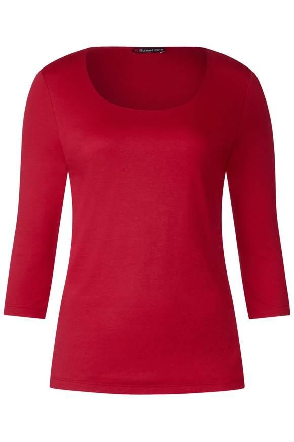 T-shirt basique étroit Pania - pure red