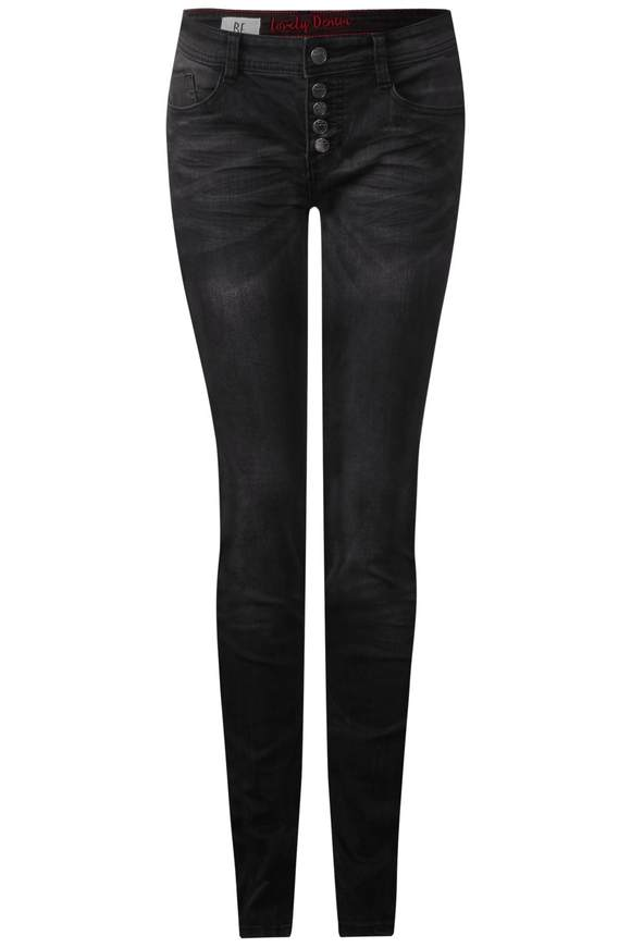 Middle waist-jeans York  - authentic Roze wash