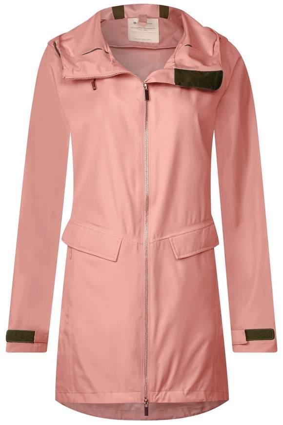Regenjacke mit Farbakzenten - cosy rose | Sportbekleidung > Sportjacken > Regenjacken | Cosy rose | Ab | STREET ONE