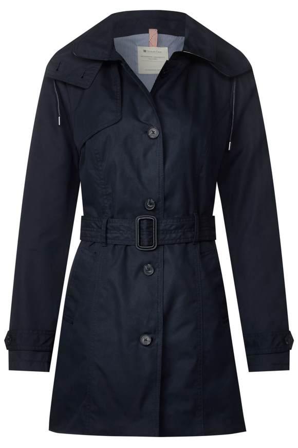 Trenchcoat mit Gürtel - deep blue | Bekleidung > Mäntel > Trenchcoats | Deep blue | STREET ONE
