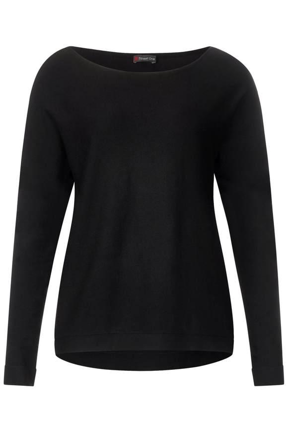 Basic Pullover Noreen - Black