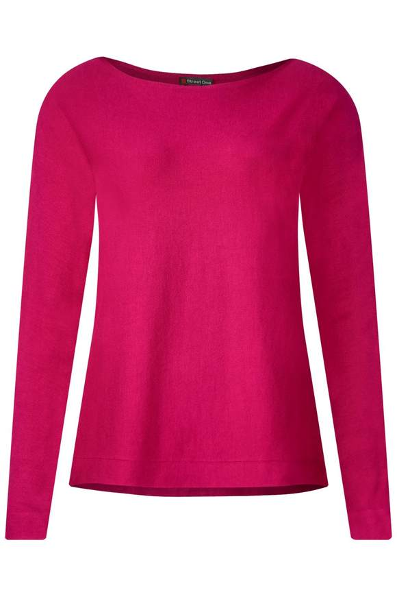Basic Pullover Noreen - azalea pink
