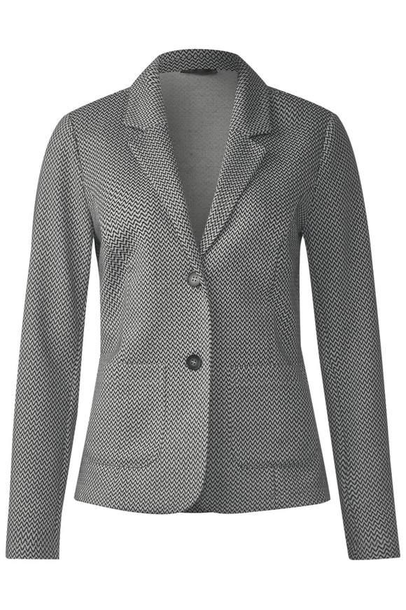 Sweat-Blazer Marit - Black | Bekleidung > Blazer > Sweatblazer | Black | STREET ONE