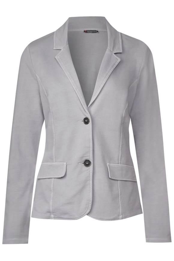Jersey Blazer mit Waschung - lunar grey   Bekleidung > Blazer   Lunar grey   Jersey   STREET ONE