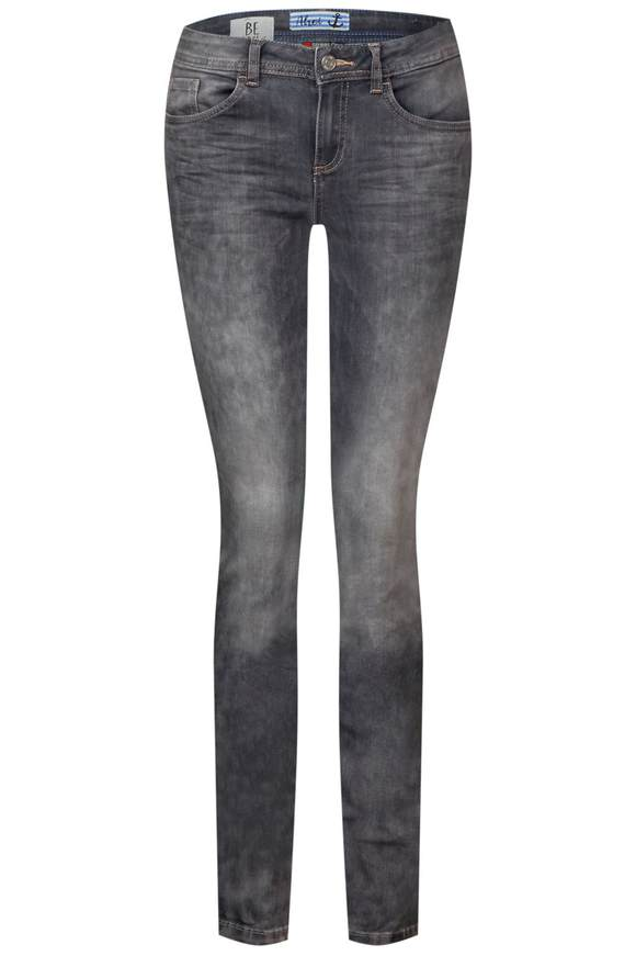 Jeans York met rafels  - authentic grey denim