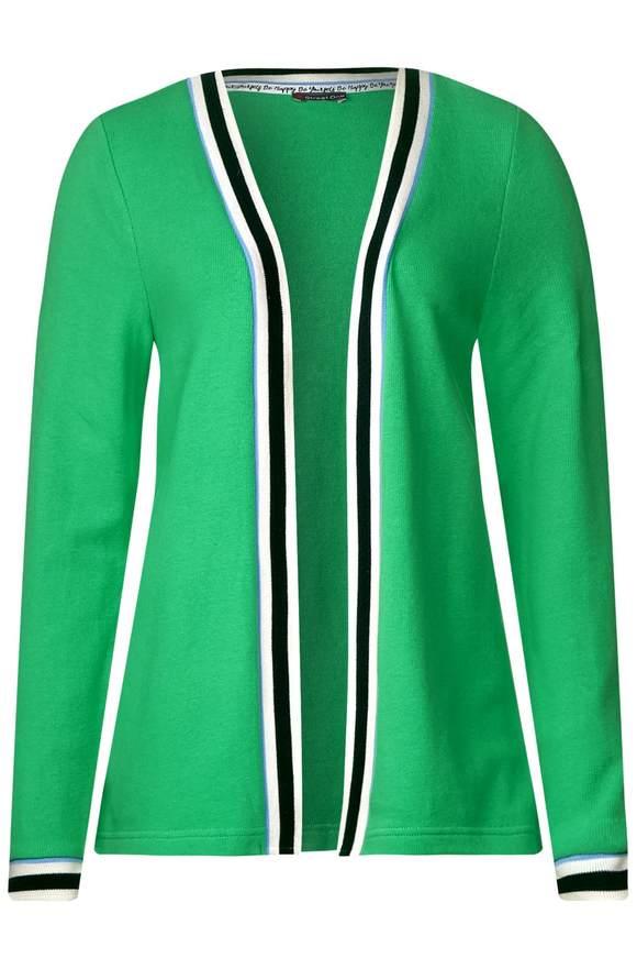 Zacht vest Perline - spring green