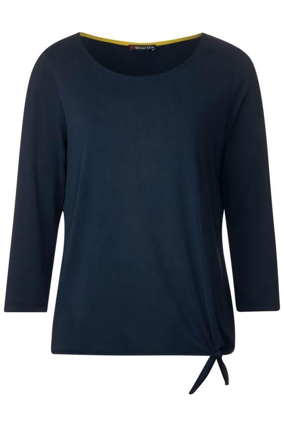 Soft shirt Femke - deep blue