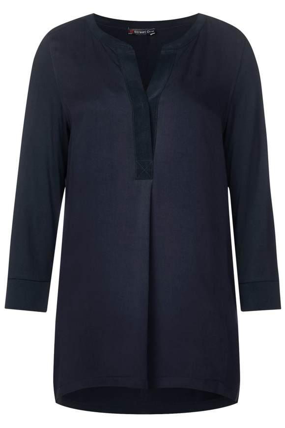 Bluse im Tunika-Style - deep blue   Bekleidung > Tuniken > Sonstige Tuniken   Deep blue   STREET ONE