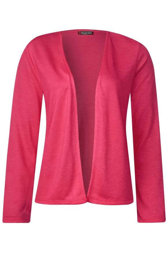 Softe Strickjacke Nette - dark blossom pink | Bekleidung > Strickjacken & -mäntel > Strickjacken | Dark blossom pink | STREET ONE