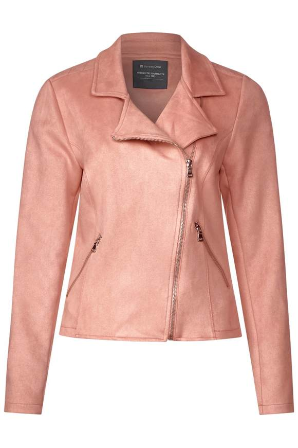 Lässige Bikerjacke - pale rose   Bekleidung > Jacken > Bikerjacken   Pale rose   STREET ONE