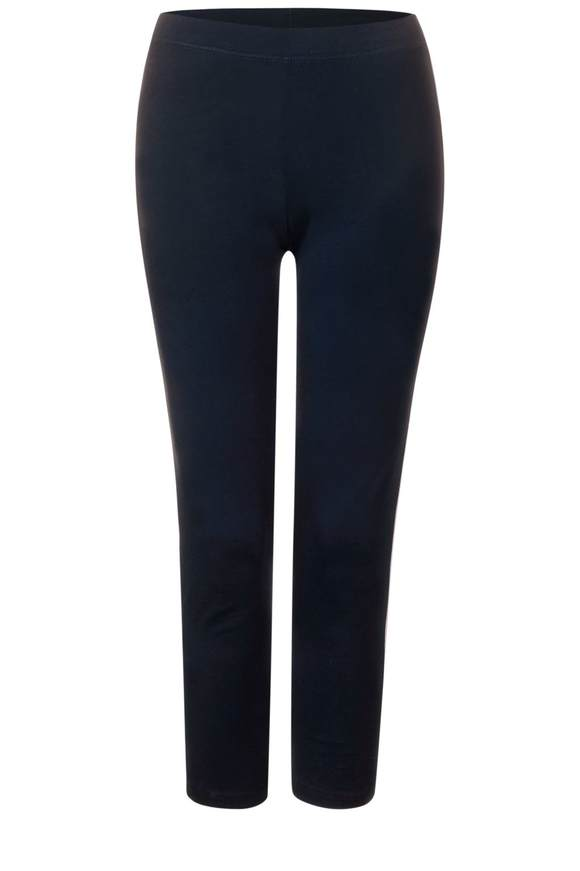 7/8-legging met strepen  - deep blue