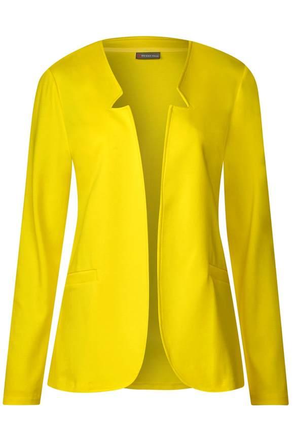 Blazer mit Reverskragen - sunshine yellow | Bekleidung > Blazer > Sonstige Blazer | Sunshine yellow | STREET ONE