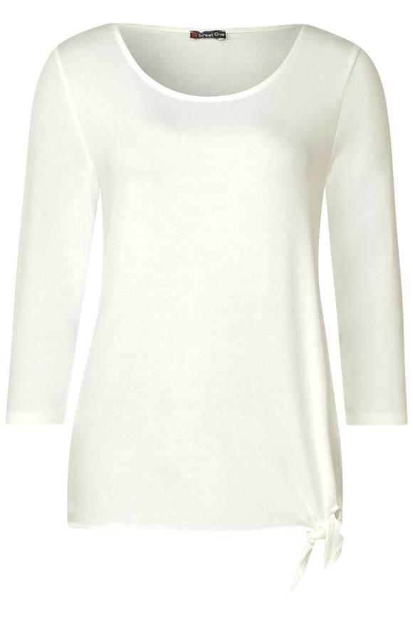Soft shirt Femke - Wit