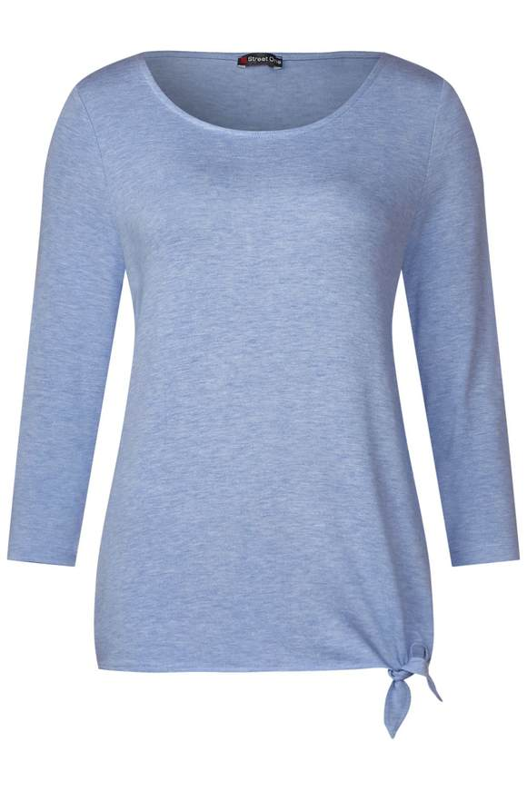 Soft shirt Femke - cosmic blue