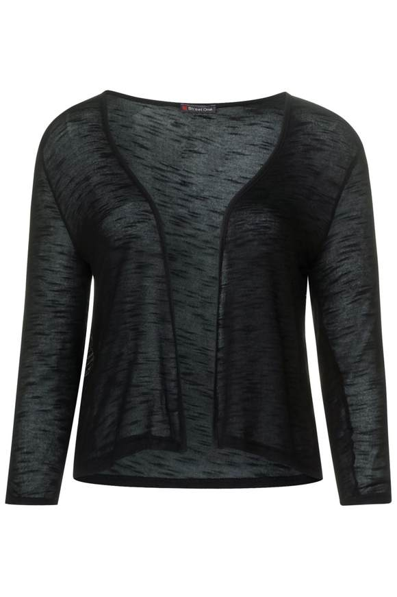 Kurze Shirtjacke Suse - Black   Bekleidung > Shirts > Shirtjacken   Black   Denim   STREET ONE