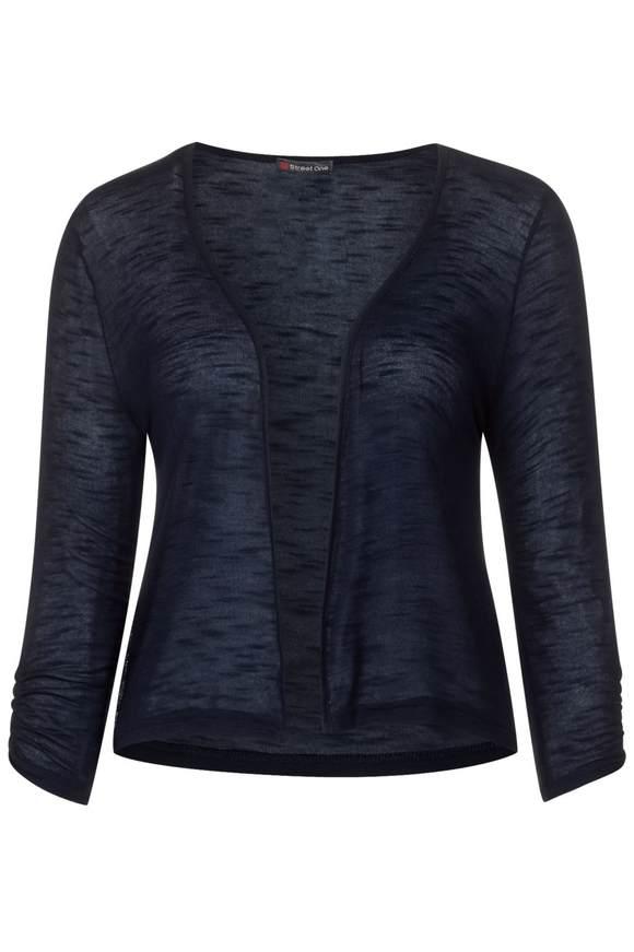 Kurze Shirtjacke Suse - deep blue   Bekleidung > Shirts > Shirtjacken   Deep blue   Denim   STREET ONE