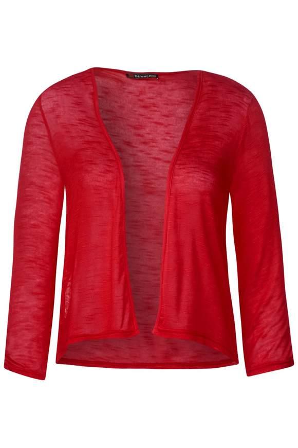 Kurze Shirtjacke Suse - vivid red   Bekleidung > Shirts > Shirtjacken   Vivid red   Denim   STREET ONE