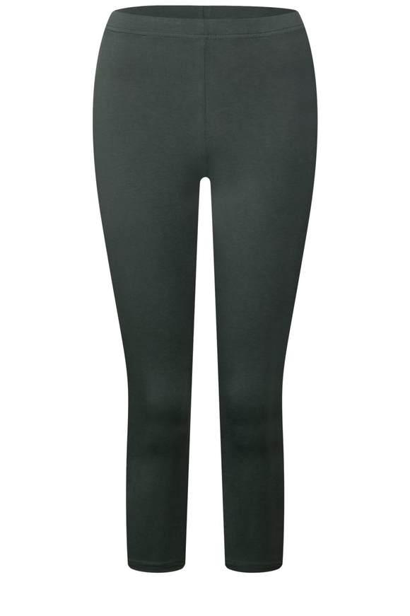 3/4 Basic-Leggings - chilled green | Bekleidung > Hosen > Leggings | Chilled green | STREET ONE