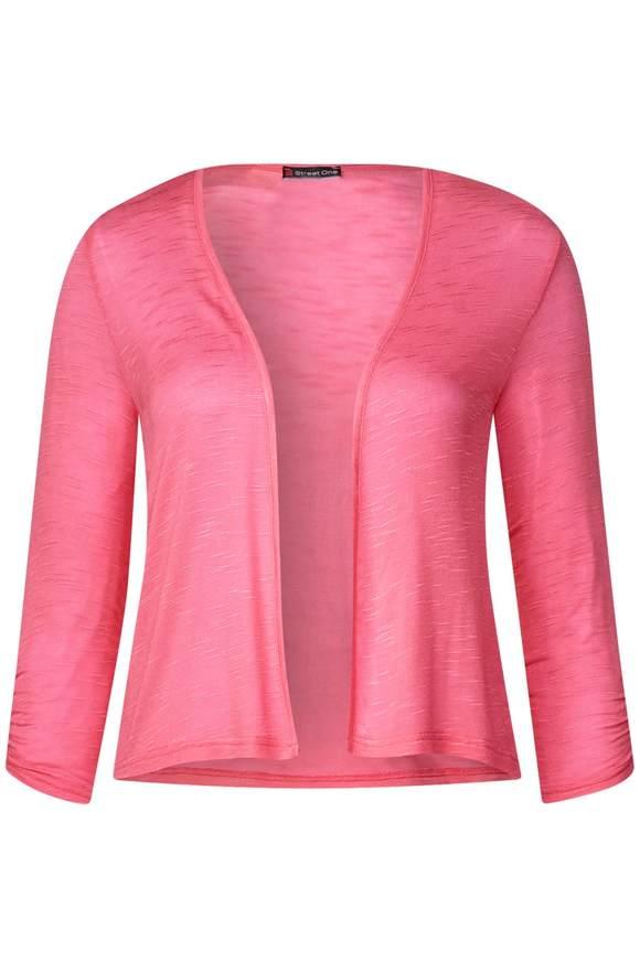 Kort shirtjas Suse - blossom pink