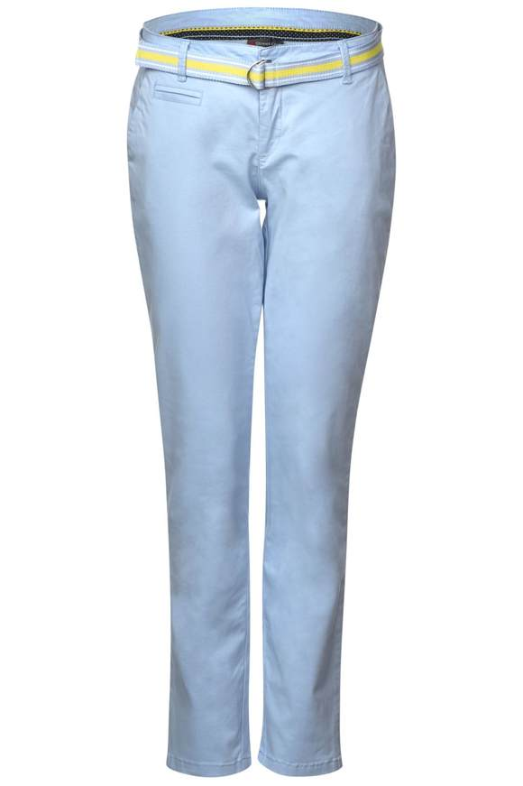 Lässige Chino Jacky - pale blue   Bekleidung > Hosen > Chinohosen   Pale blue   STREET ONE