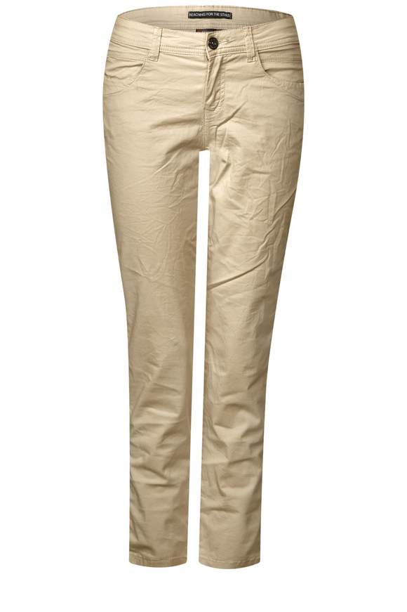 Casual Fit Chinohose Crissi - desert sand   Bekleidung > Hosen > Chinohosen   Desert sand   STREET ONE