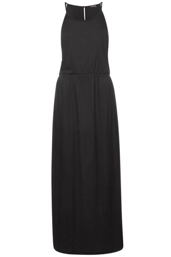 Jersey Neckholder Kleid - Black   Bekleidung > Kleider > Neckholderkleider   Black   Jersey   STREET ONE