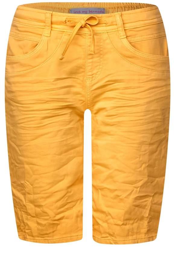 Lässige Bermuda Bonny - soft bright clementine wash | Bekleidung > Jeans > Shorts & Bermudas | Soft bright clementine wash | Denim | STREET ONE