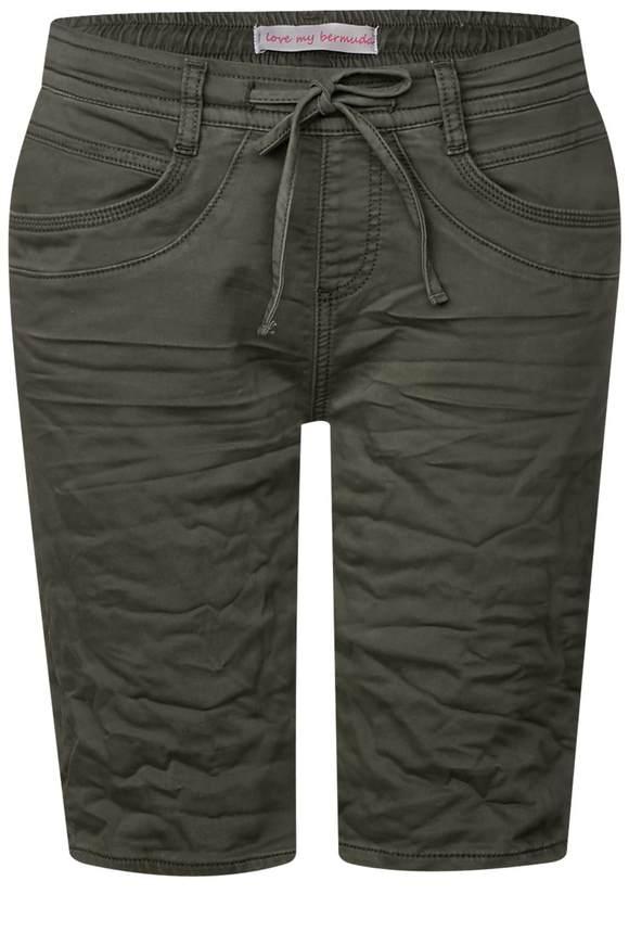 Lässige Bermuda Bonny - soft chilled green wash | Bekleidung > Jeans > Shorts & Bermudas | Soft chilled green wash | Denim | STREET ONE
