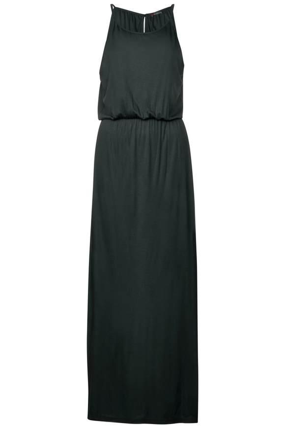 Jersey Neckholder Kleid - chilled green | Bekleidung > Kleider > Neckholderkleider | Chilled green | Jersey | STREET ONE