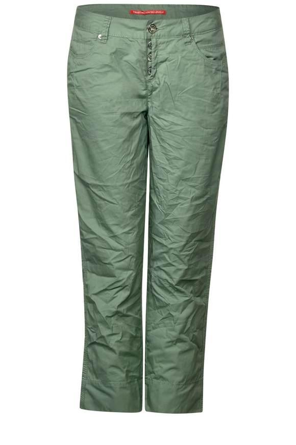 Softe Chino Hose Jane - salvia green   Bekleidung > Hosen > Chinohosen   Salvia green   Baumwolle   STREET ONE