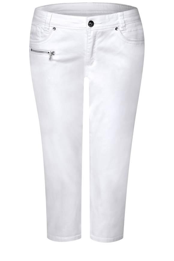 3/4 Hose Yulius - White | Bekleidung > Hosen > Chinohosen | White | STREET ONE