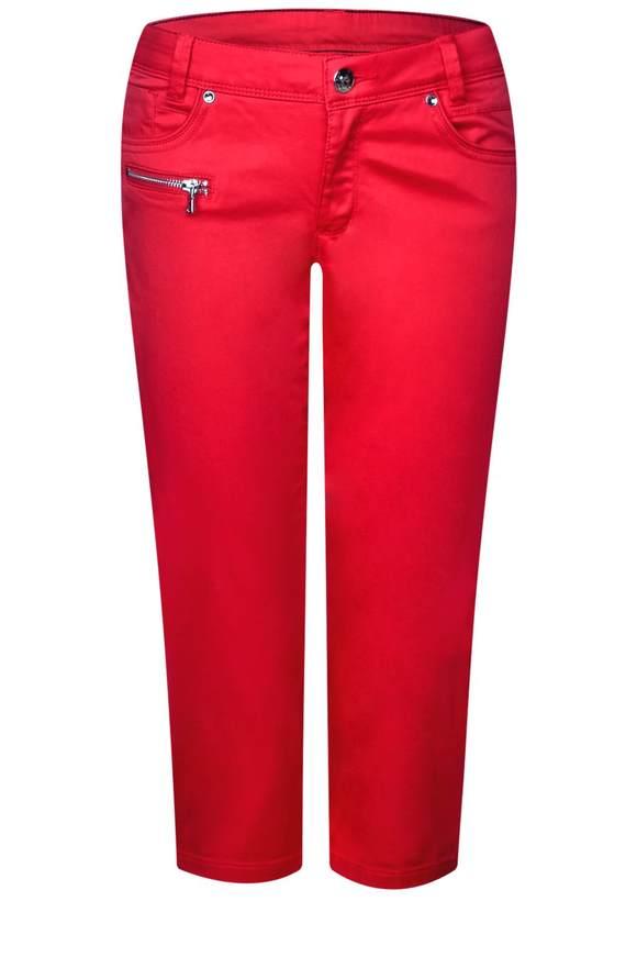 3/4 Hose Yulius - vivid red | Bekleidung > Hosen | Vivid red | STREET ONE