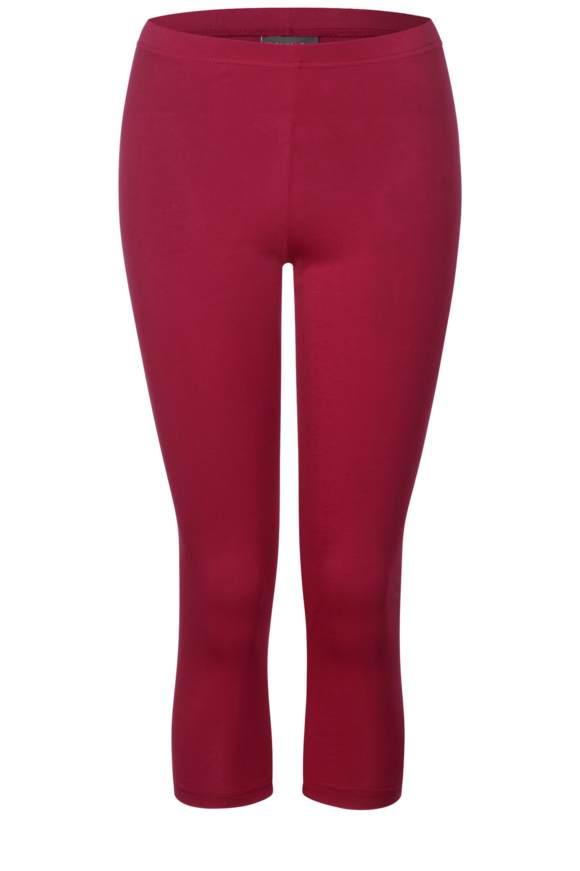 3/4 Basic Leggings - wine red | Bekleidung > Hosen > Leggings | Wine red | STREET ONE