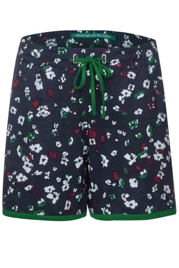 Beach Shorts mit Print - deep blue   Bekleidung > Hosen > Shorts & Bermudas   Deep blue   Modal   STREET ONE