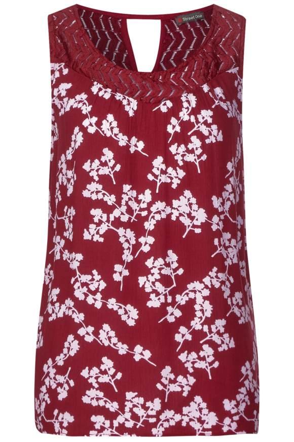 Shirt mit Print Tinka - wine red   Bekleidung > Shirts > Sonstige Shirts   Wine red   STREET ONE