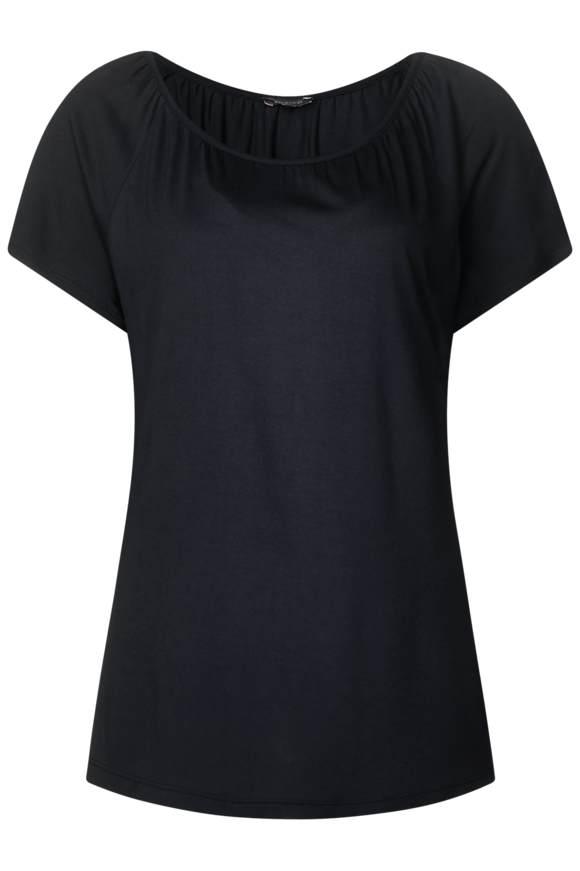 Jersey Carmen Shirt - neo grey | Bekleidung > Shirts > Carmenshirts & Wasserfallshirts | Neo grey | Jersey | STREET ONE