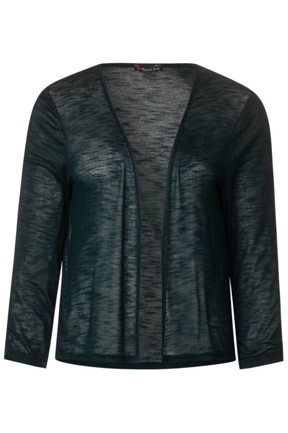 Kurze Shirtjacke Suse - highland green | Bekleidung > Shirts > Shirtjacken | Highland green | Denim | STREET ONE