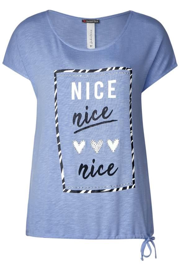 Grafikprint-Shirt Abelia - heaven blue   Bekleidung > Shirts > Print-Shirts   Heaven blue   Modal   STREET ONE