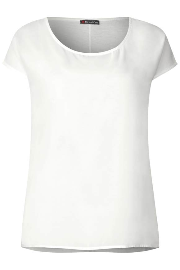 Two in One Shirt - off white   Bekleidung > Shirts > Sonstige Shirts   Off white   Chiffon   STREET ONE