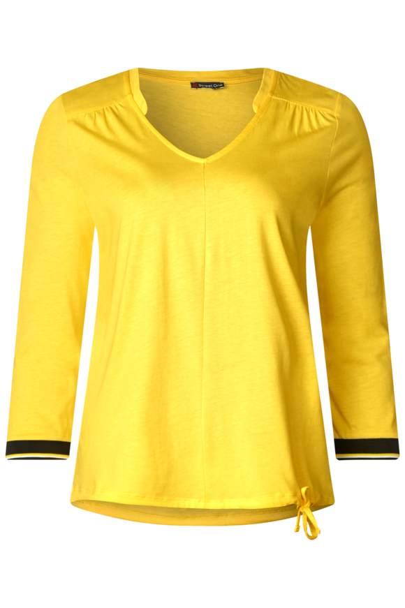 Uni Jersey Shirt - creamy lemon   Bekleidung > Shirts > Sonstige Shirts   Creamy lemon   Jersey   STREET ONE