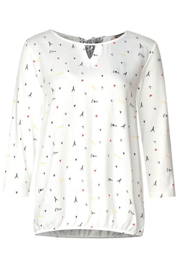 Chemise avec imprimé à symboles