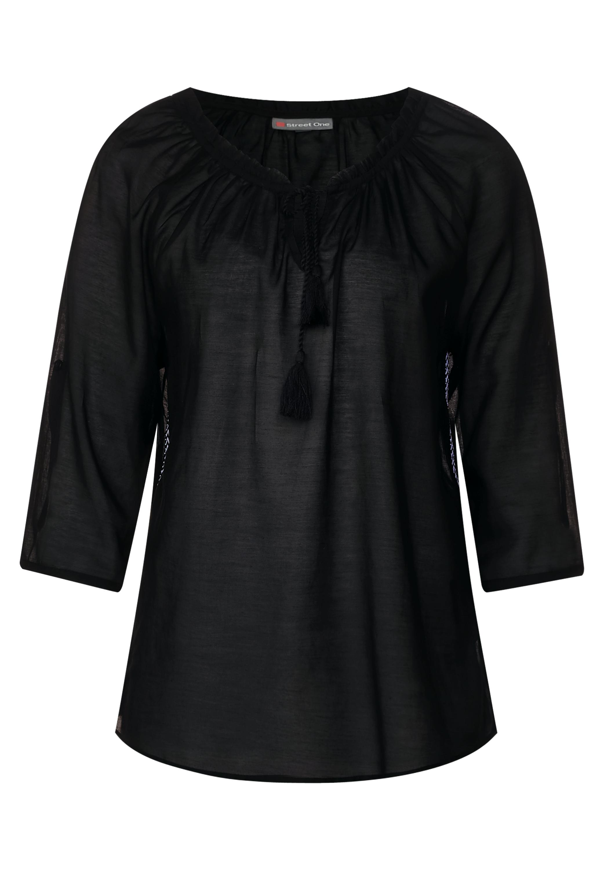c523402489d203 Transparente Tunika Bluse - Black€ 39,99Anbieter: street-one.atVersand: €  0,99